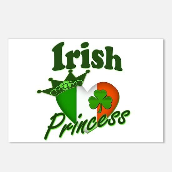 Irish Princess St. Patty's Day Postcards (Package