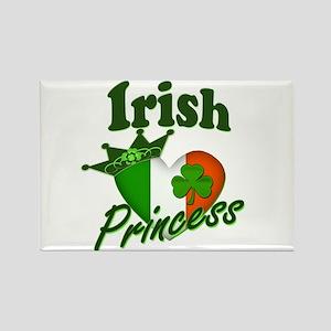 Irish Princess St. Patty's Day Rectangle Magnet