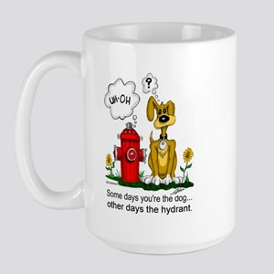 Some Days Large Mug