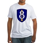 8th Infantry Fitted T-Shirt