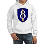 8th Infantry Hooded Sweatshirt