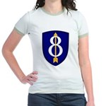 8th Infantry Jr. Ringer T-Shirt