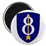 8th Infantry Magnet