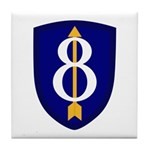 8th Infantry Tile Coaster