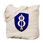 8th Infantry Tote Bag