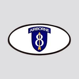 8th Infantry Airborne Patches