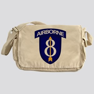 8th Infantry Airborne Messenger Bag