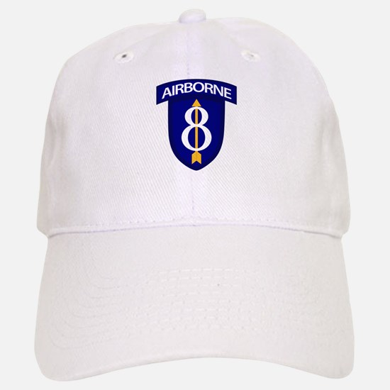 8th Infantry Airborne Baseball Baseball Cap