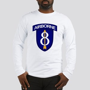 8th Infantry Airborne Long Sleeve T-Shirt