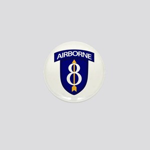 8th Infantry Airborne Mini Button