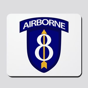 8th Infantry Airborne Mousepad