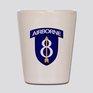 8th Infantry Airborne Shot Glass