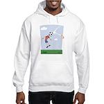Funny Soccer Hooded Sweatshirt
