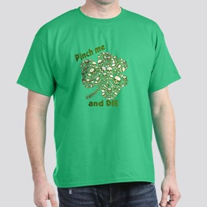 Pinch Me and Die Funny Irish Dark T-Shirt