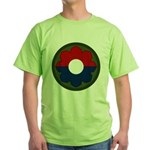 9th Infantry Green T-Shirt