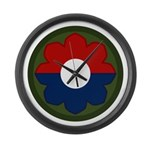 9th Infantry Large Wall Clock