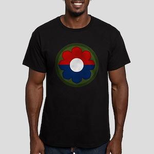 9th Infantry Men's Fitted T-Shirt (dark)