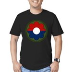 9th Infantry Men's Fitted T-Shirt (dark)