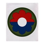 9th Infantry Throw Blanket