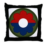 9th Infantry Throw Pillow