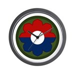 9th Infantry Wall Clock