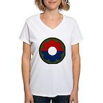 9th Infantry Women's V-Neck T-Shirt