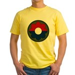 9th Infantry Yellow T-Shirt
