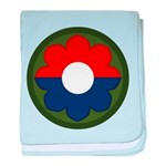 9th Infantry baby blanket