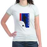 America Soccer  Jr. Ringer T-Shirt