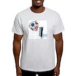 Soccer Kicks Ash Grey T-Shirt