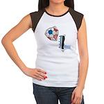 Soccer Kicks Women's Cap Sleeve T-Shirt