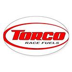 TORCO logo Sticker (Oval 50 pk)