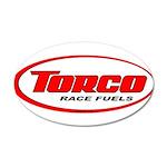 TORCO logo 38.5 x 24.5 Oval Wall Peel
