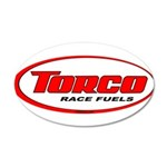 TORCO logo 22x14 Oval Wall Peel