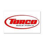 TORCO logo Car Magnet 20 x 12