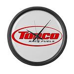 TORCO logo Large Wall Clock