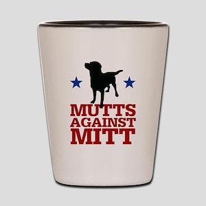Mutts Against Mitt Shot Glass