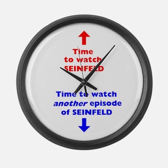 Large Seinfeld Clock