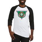 Soccer Emblem Baseball Jersey