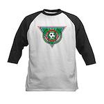 Soccer Emblem Kids Baseball Jersey