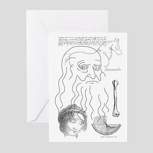 Leonardo Note Cards (Pk of 10)