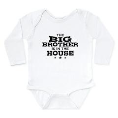 Funny Big Brother Long Sleeve Infant Bodysuit