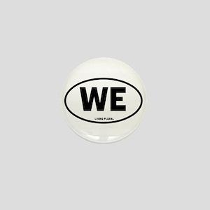 WE Euro Style Oval Mini Button