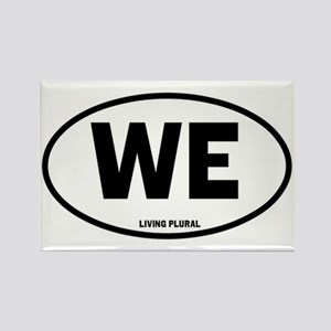 WE Euro Style Oval Rectangle Magnet