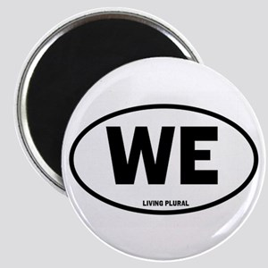 WE Euro Style Oval Magnet