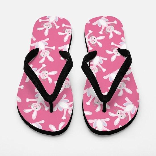 Easter Bunny Flip Flops