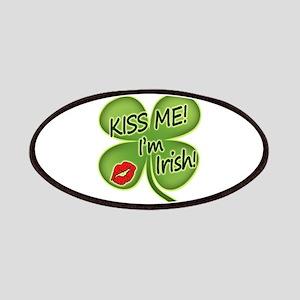 Kiss Me I'm Irish Classic Patches