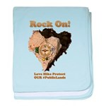 Save Our #PublicLands baby blanket