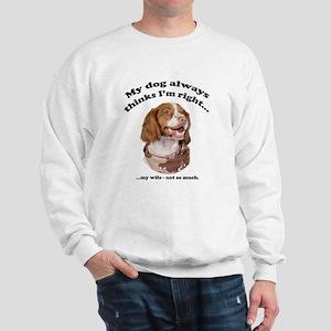 Brittany V Wife Sweatshirt