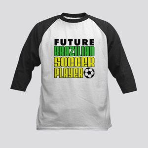 Future Brazilian Soccer Playe Kids Baseball Jersey